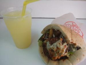 Falafel&Lemon Juice(Tel Aviv)